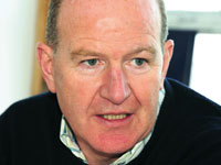 Alistair McLean, chief executive