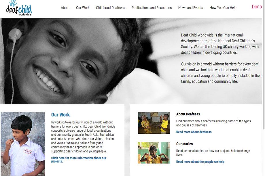 deaf child worldwide
