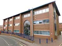 The Public Safety Trust's premises in Derby