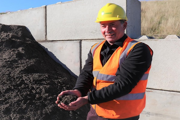 Levenseat's low carbon aggregates achieve end-of-waste status