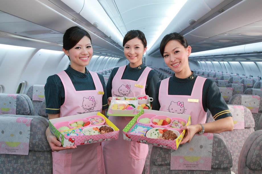 EVA Air Hello Kitty jet