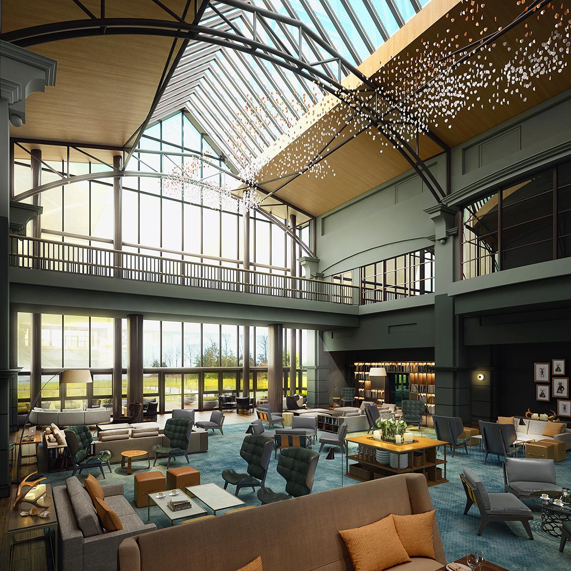 Fairmont St Andrews Atrium
