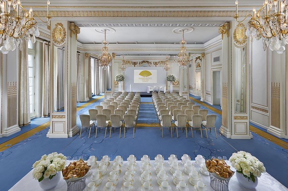 Mandarin Oriental Hyde Park London ballroom