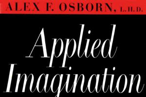 Applied Imagination by Alex Osborn