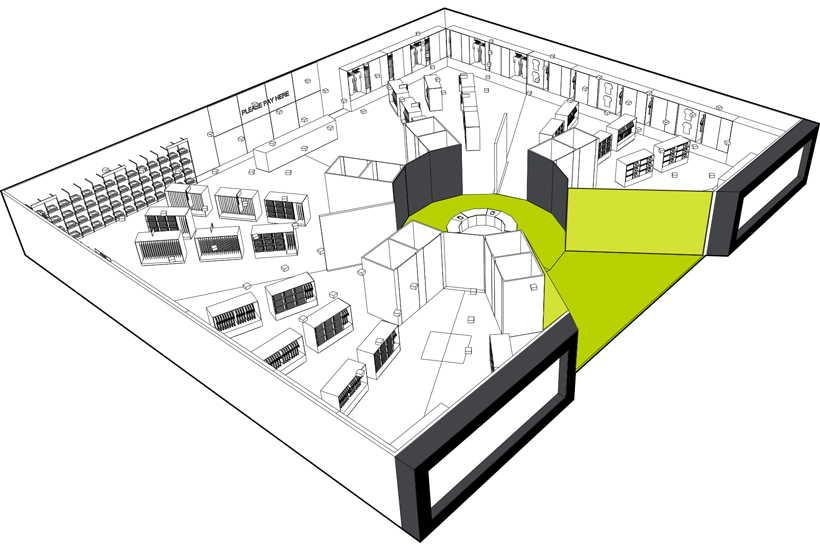 M&S concept store floor plan