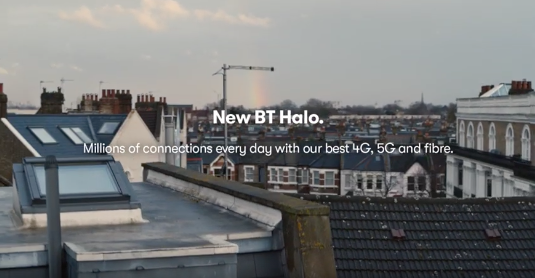 BT Halo: campaign includes out-of-home, cinema, video-on-demand, press and social activity