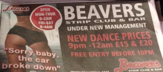 Beavers ad embed