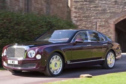 The Mulsanne Diamond Jubilee Bentley