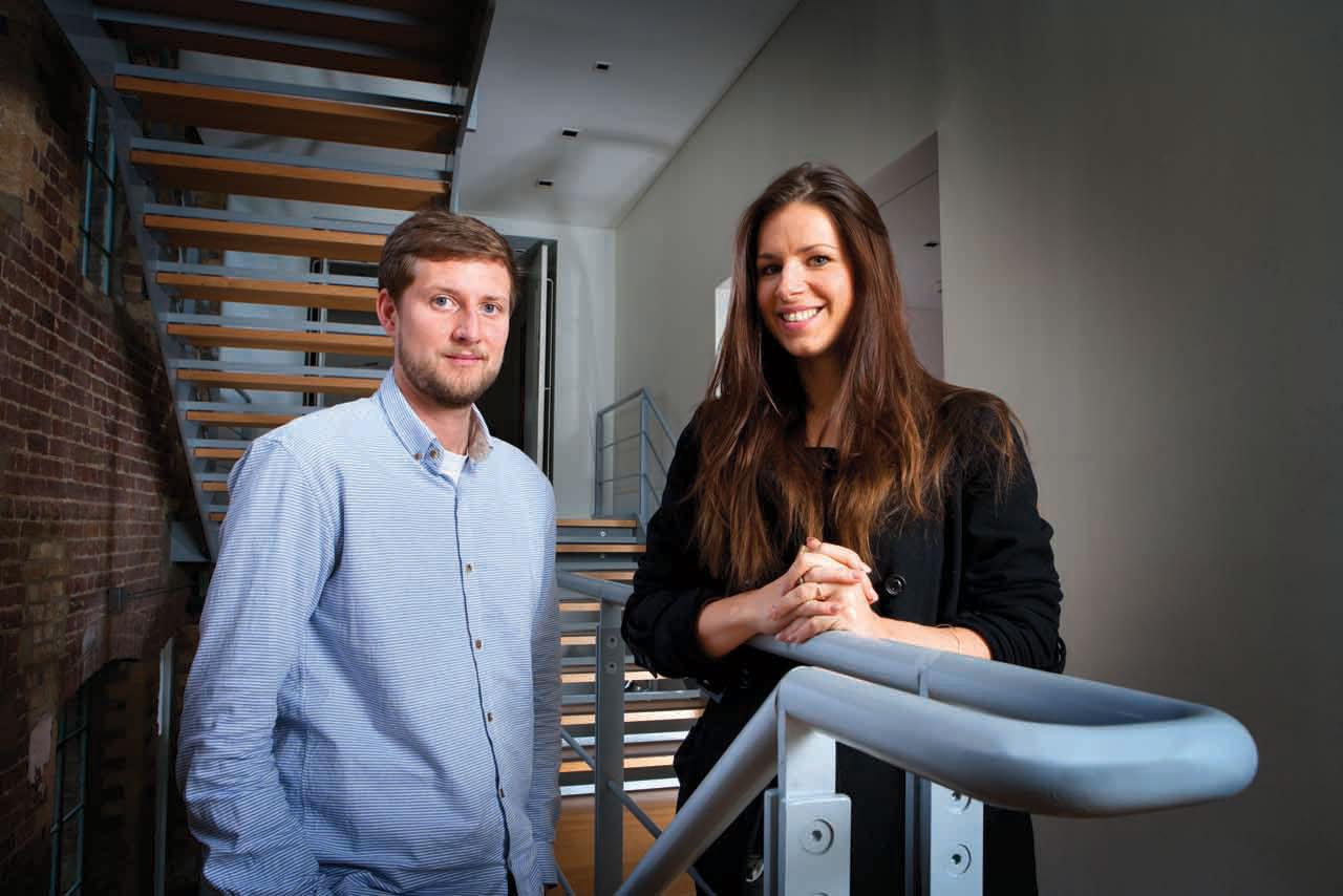 Joe Bruce and Kate Baker