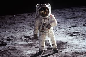 Buzz Aldrin. Photo courtesy NASA