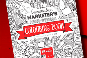 The Innovative Marketer's anti-stress colouring book