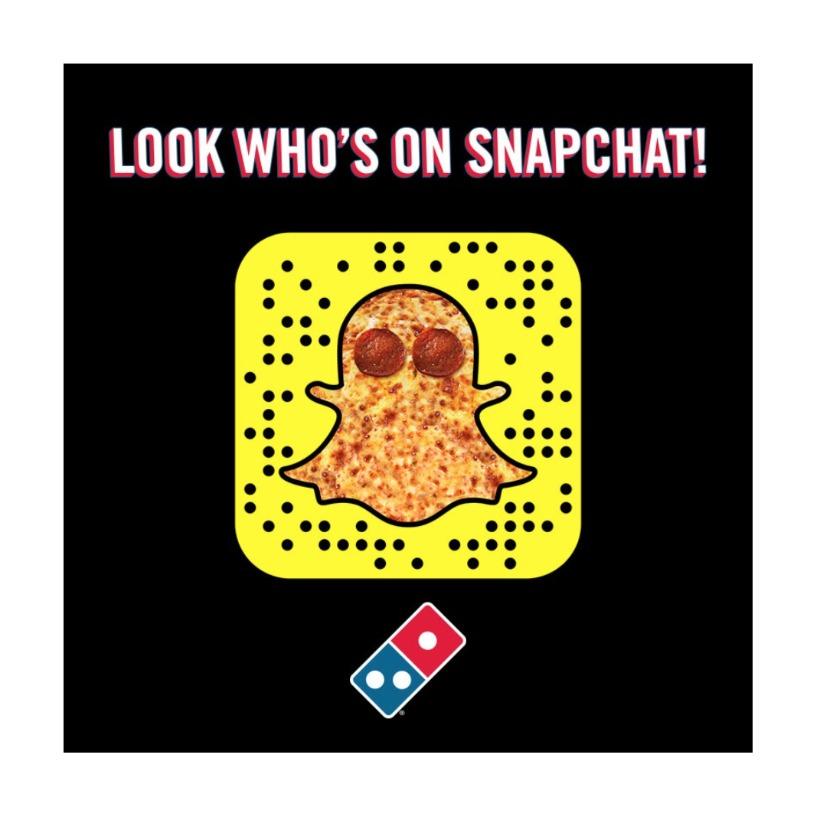 Domino's Snapchat
