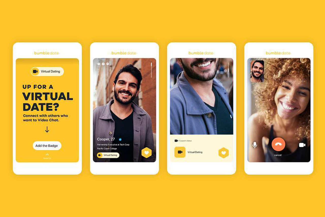 Bumble: app hopes to connect users during lockdown