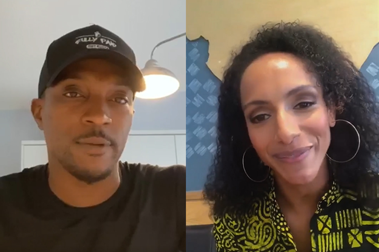 Instagram: Ashley Walters and Afua Hirsh on IGTV
