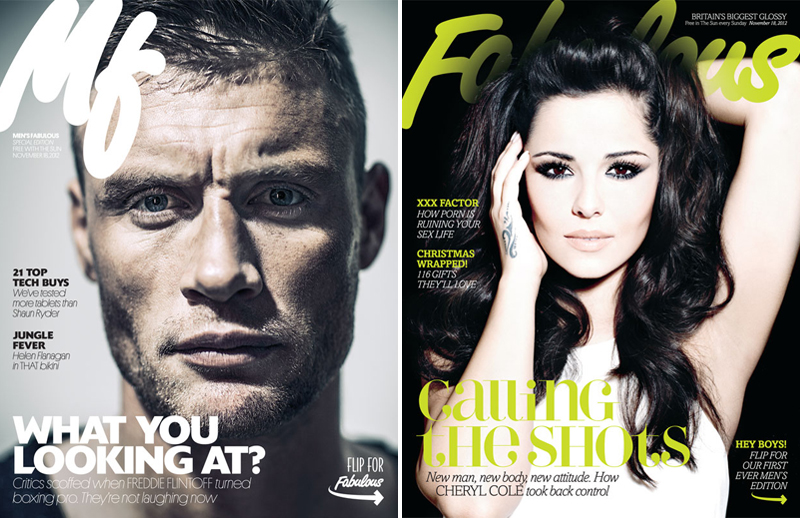 Men's and women's Fabulous editions, November 2012