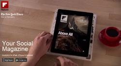 Flipboard ad