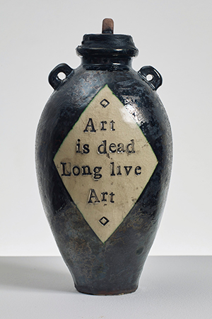 Grayson Perry created an urn for the auction