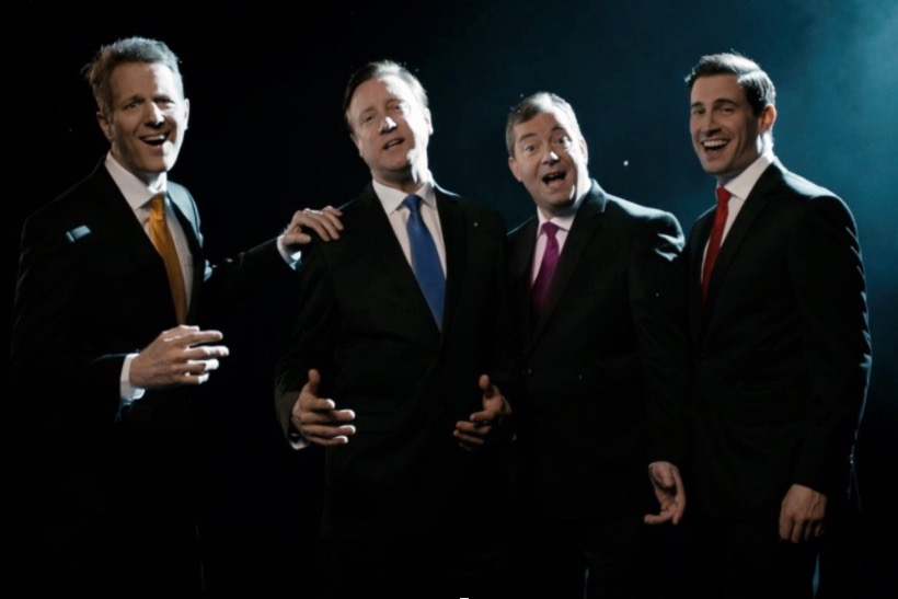 The Green Party's 'Change the Tune' video featured the three main party leaders in a boyband