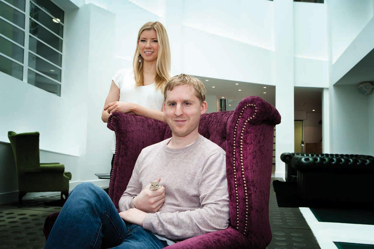 Chloe Grindle and Michael Thomason
