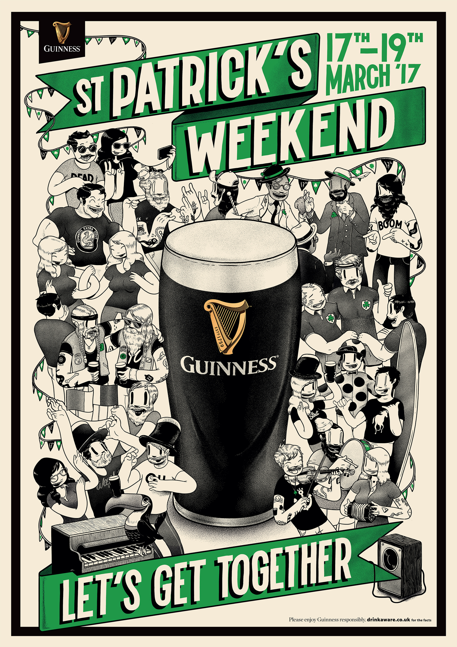 Guinness St Patrick's Day 2017 campaign