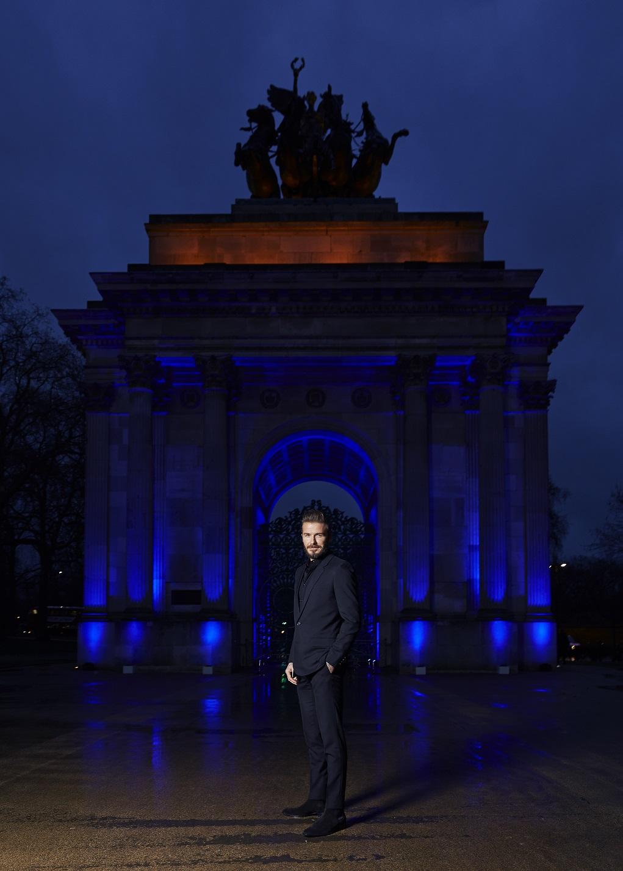 David Beckham Haig