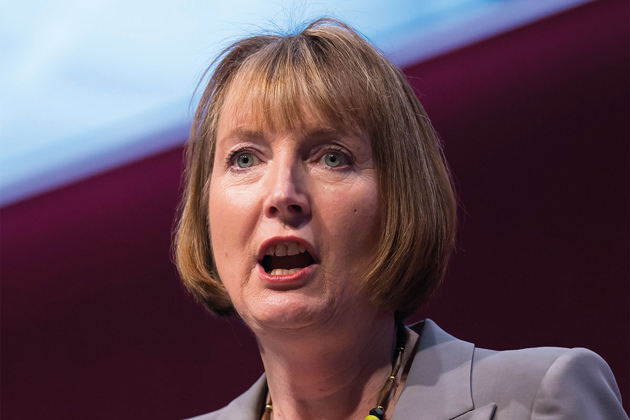 Harriet Harman, deputy leader and shadow culture secretary