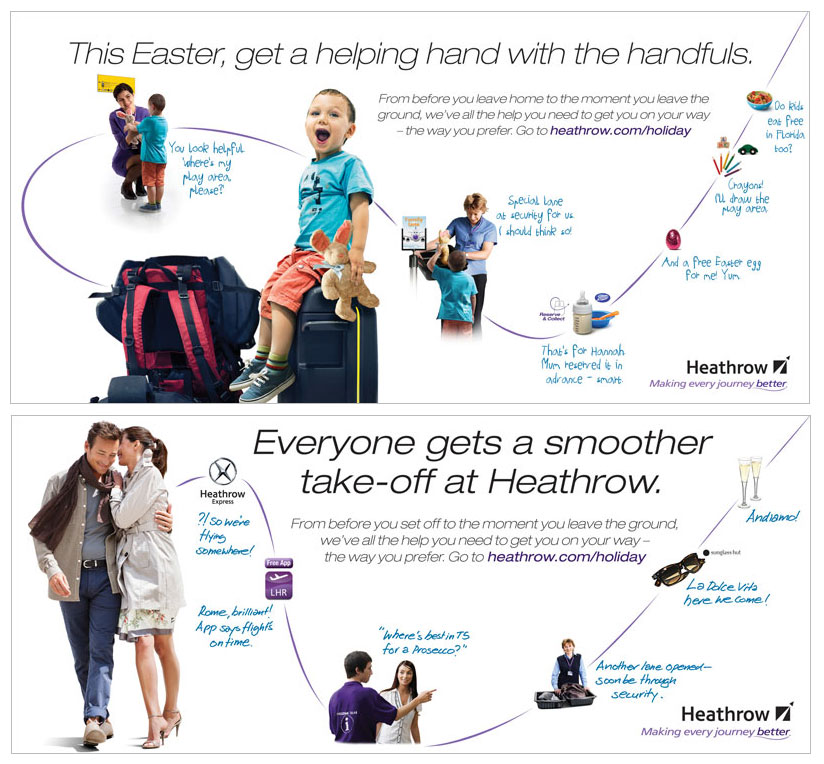 Heathrow targets families in Easter campaign