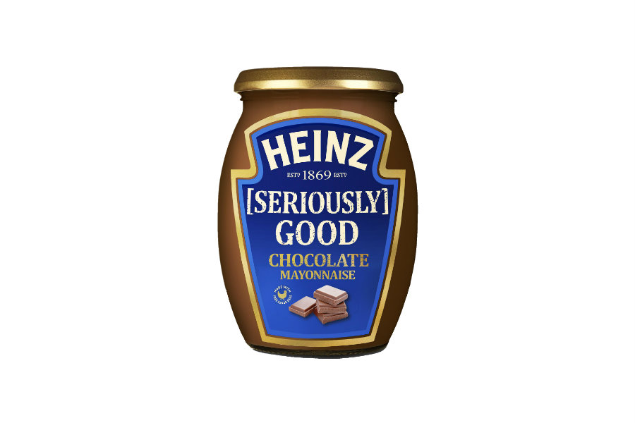 Heniz's chocolate mayonnaise