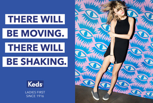 Keds Ladies First featuring Taylor Swift