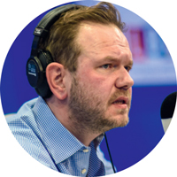 James O'Brien, presenter, LBC
