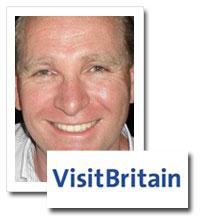 David Leslie, head of comms, Visit Britain