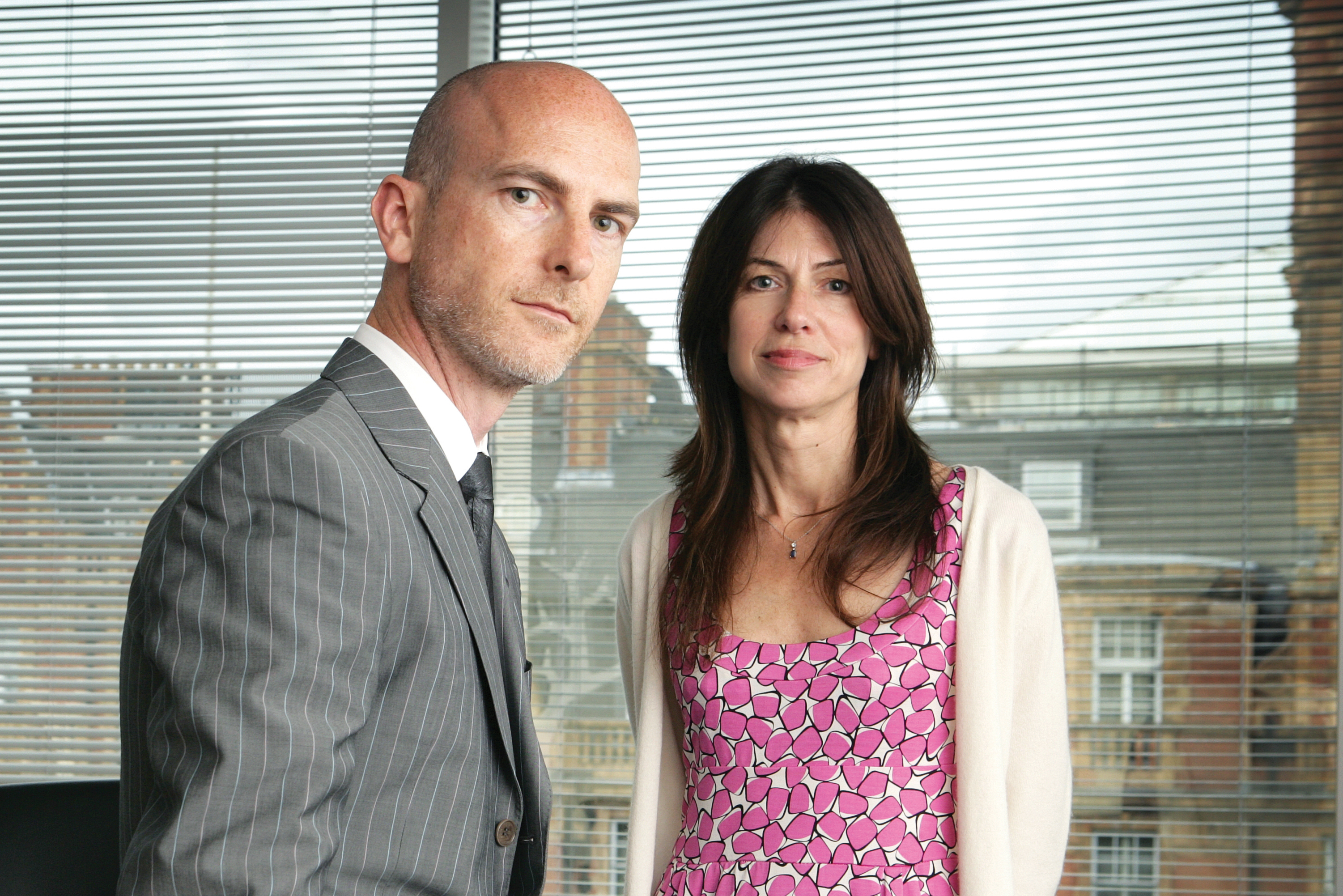 Craig Mawdsley and Bridget Angear, joint chief strategy officers, Abbott Mead Vickers BBDO
