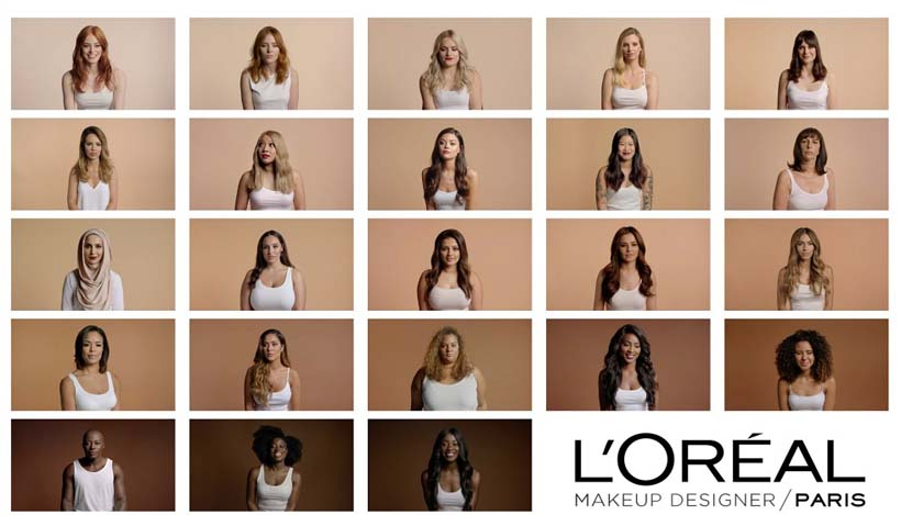 McCann London's campaign for L'Oreal True Match Foundation
