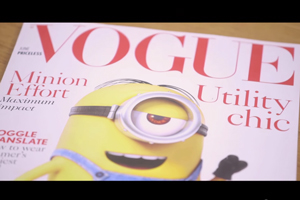 Vogue's The Minion's video