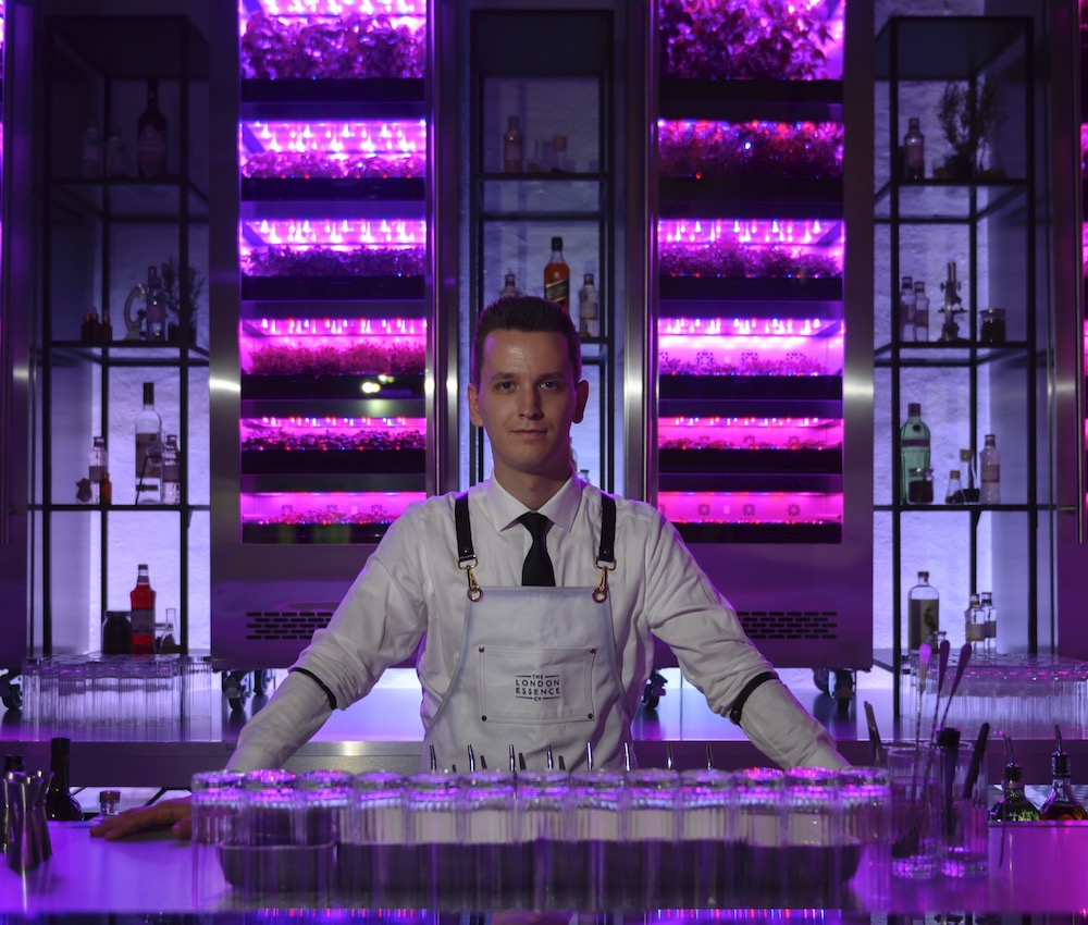 Bartender at Essence house