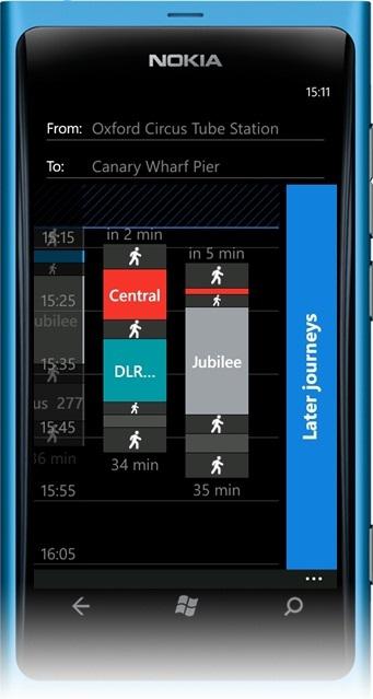 Nokia travel info