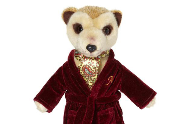 Aleksandr the Meerkat as soft toy