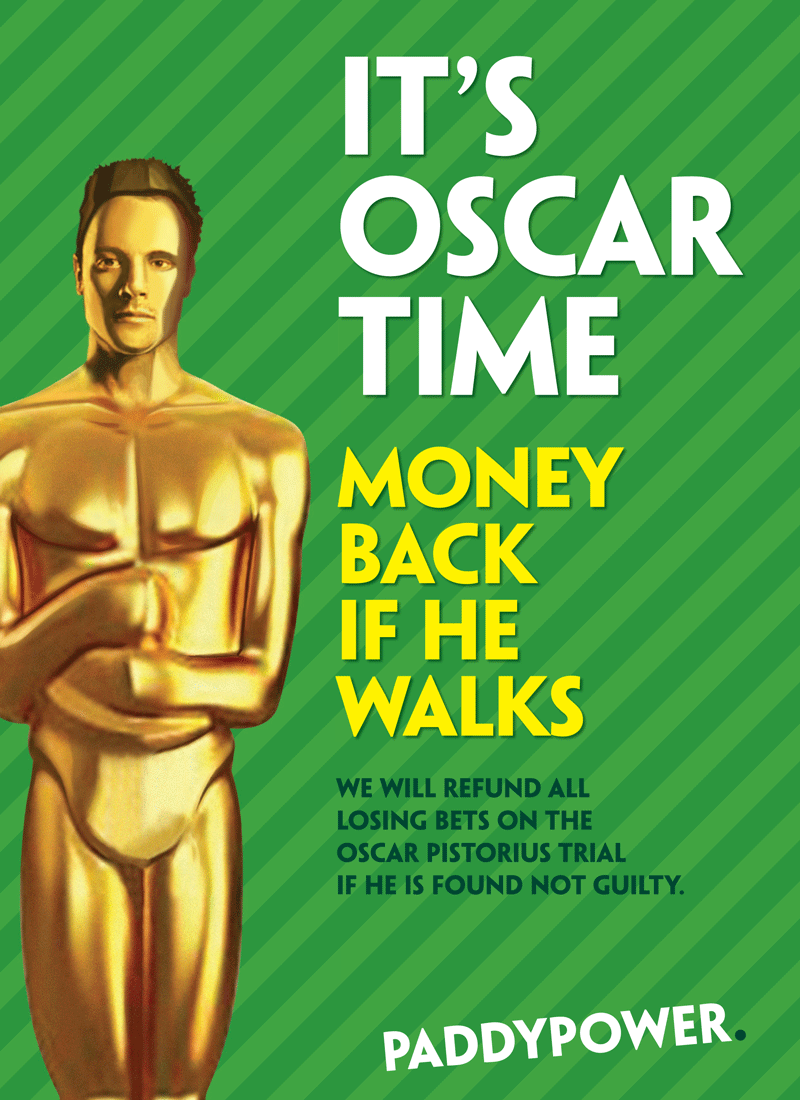 Paddy Power's Oscar Pistorius ad under investigation