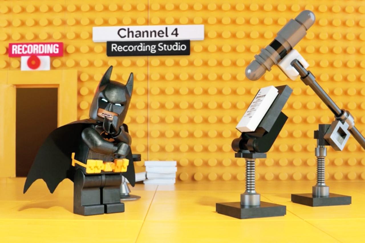 Channel 4/Lego Batman: PHD rose four places