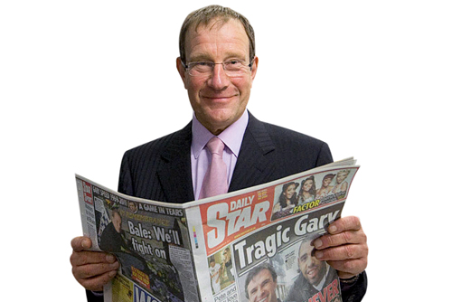 The Northern & Shell owner, Richard Desmond