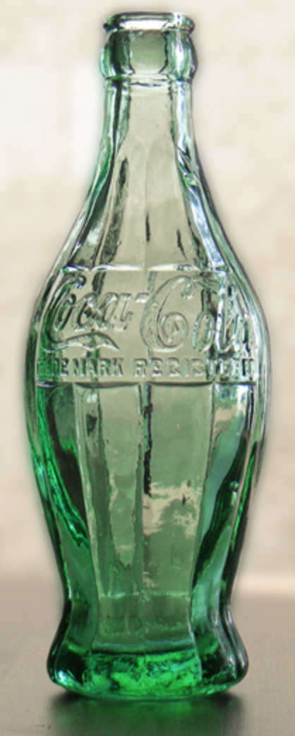 Coca-Cola contour bottle prototype