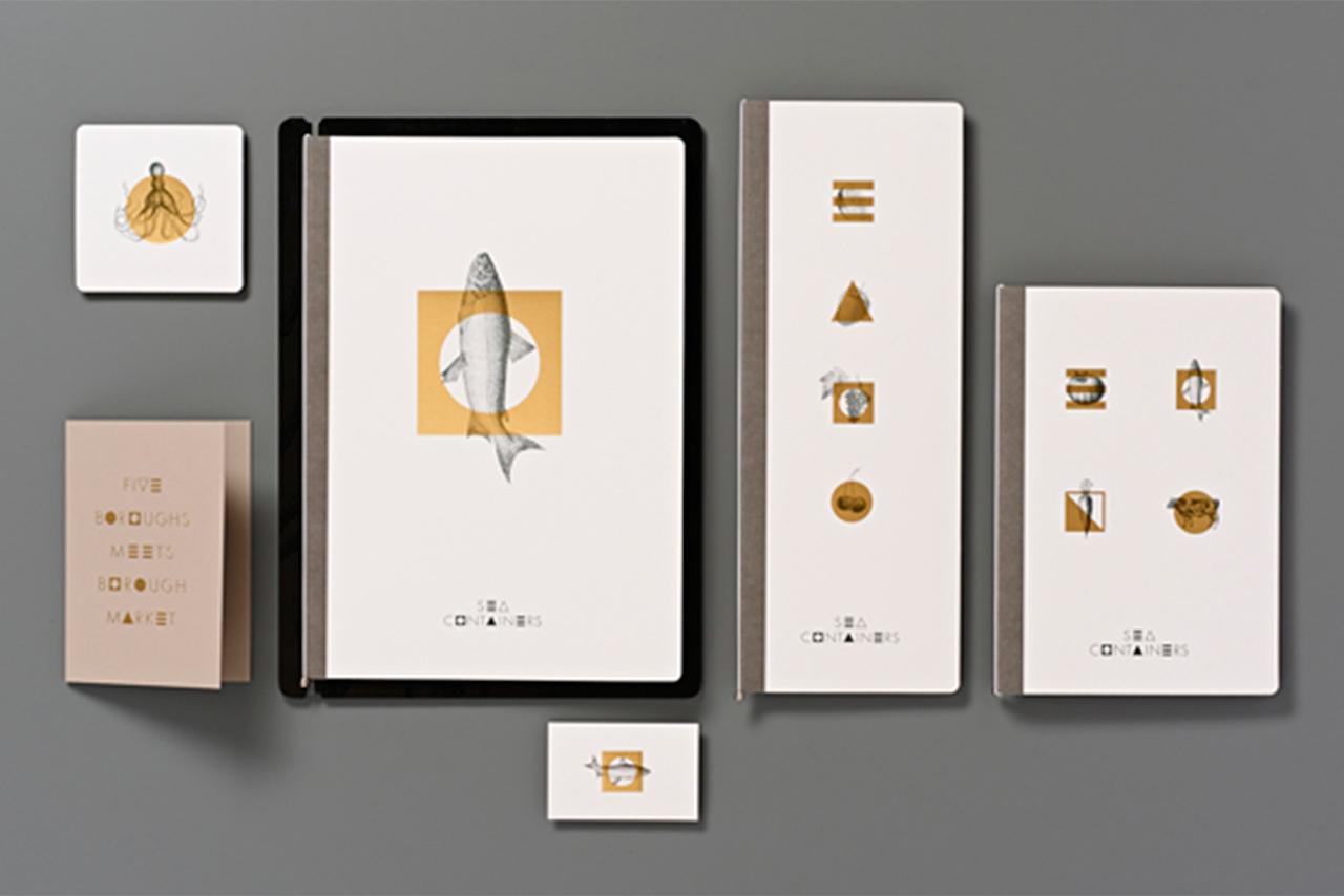 Mondrian London at Sea Containers, Magpie Studio, Graphic Design: Branding