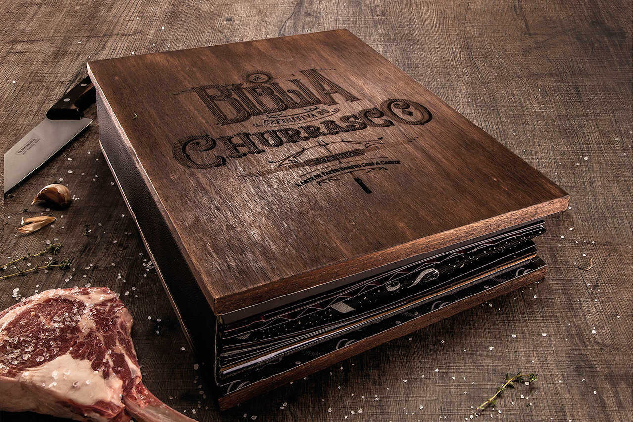 The Barbecue Bible, JWT Brasil, Art Direction for Direct