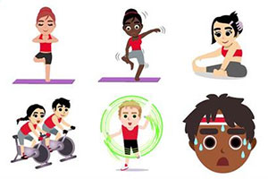 Virgin Active #Emojivation app