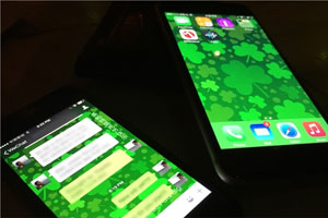 Tourism Ireland's greening of the WeChat messaging app for St Patrick's Day 2015