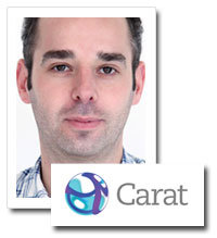 Michael Williamson, the head of radio at Carat UK