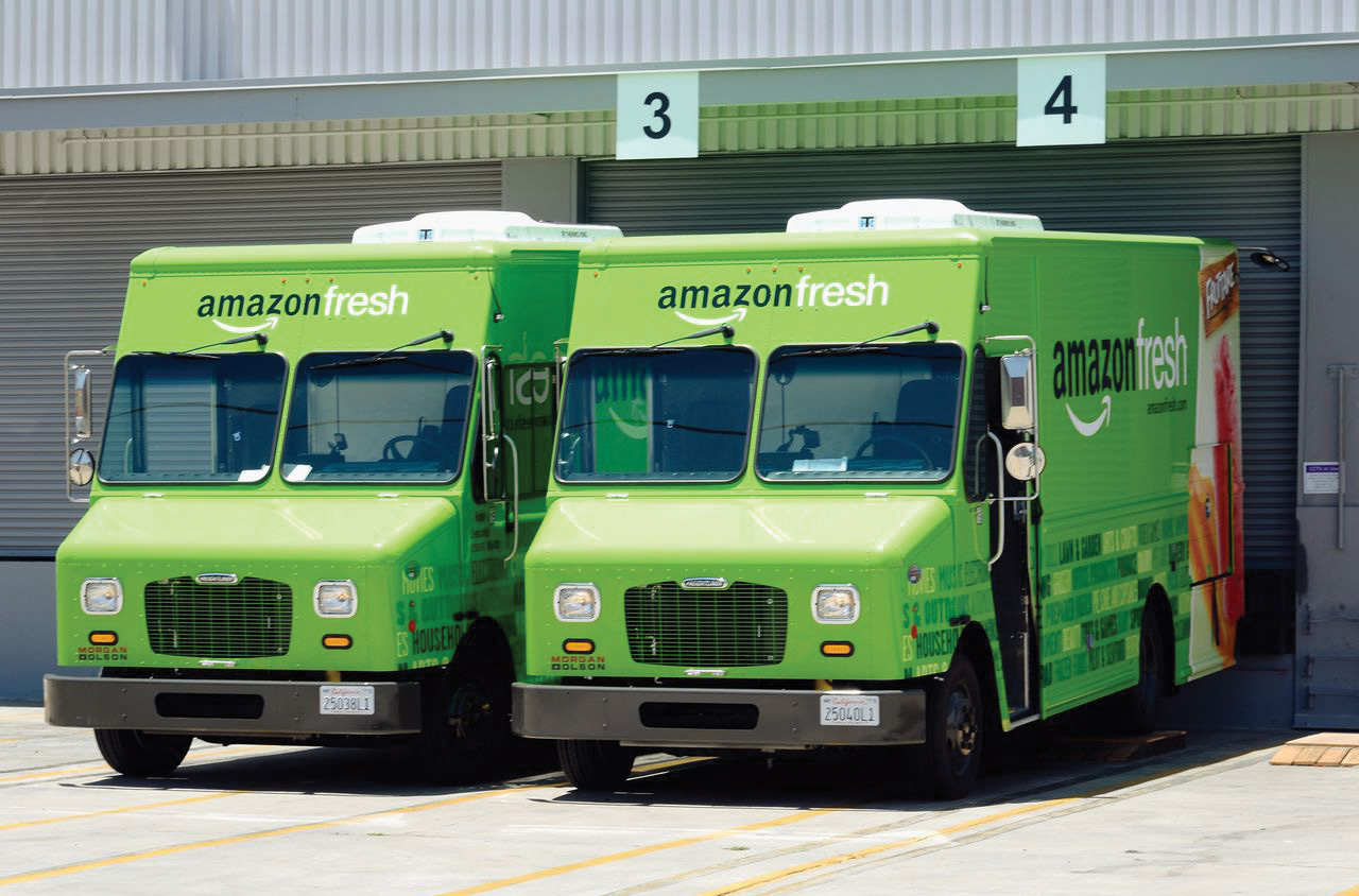 Amazon 3D Printing Delivery Trucks