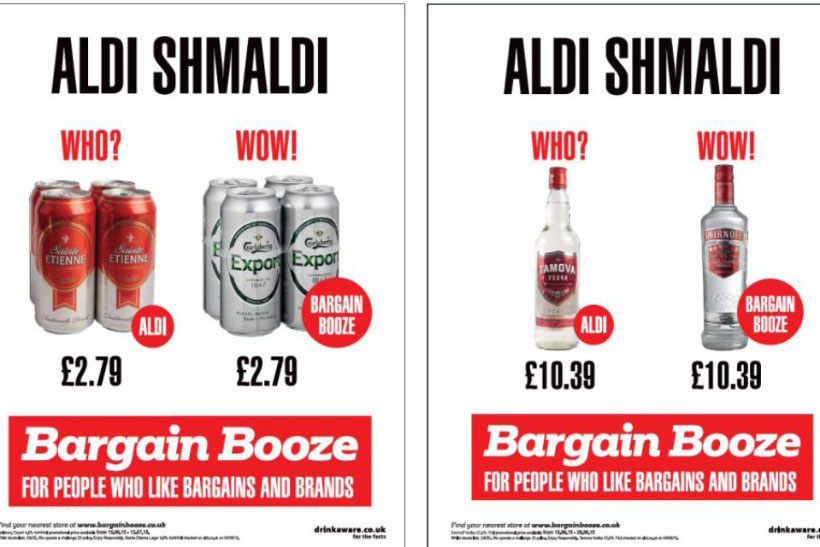 Bargain Booze adverts