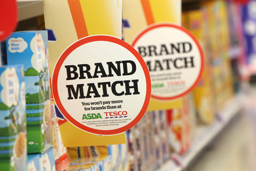 Tesco will accept redundant Sainsbury's Brand Match vouchers