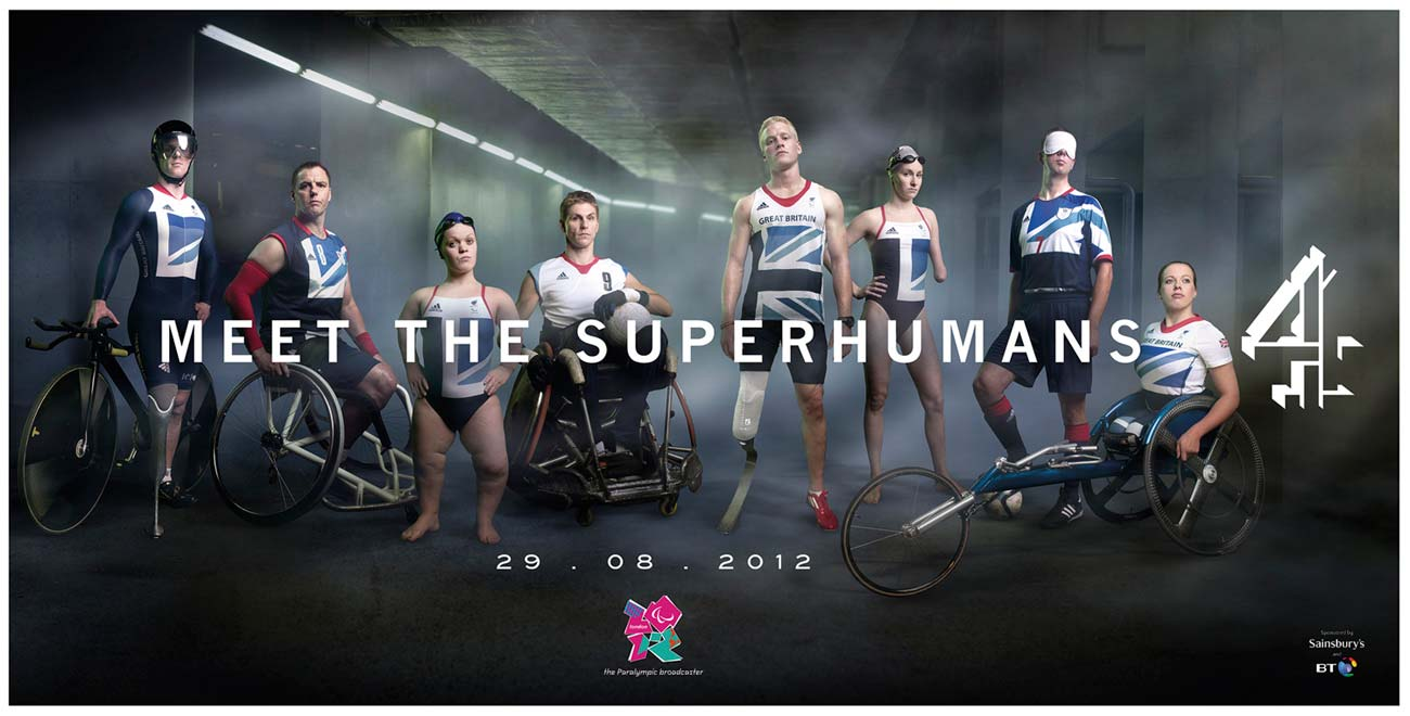 Channel 4's ad for London 2012 Paralympics